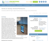 Android Pendulums