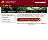 Intro to Library Research