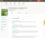 Earth Science for Middle School (Student's Edition)
