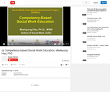 Competency-Based Social Work Education
