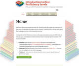 Introduction to Oral Proficiency Levels (Spanish)