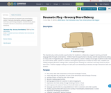 Dramatic Play - Grocery Store/Bakery