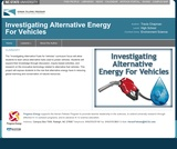 Investigating Alternative Energy For Vehicles