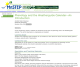 Phenology and the Weatherguide Calendar--An Introduction