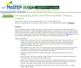 Investigating Earth and Moon Surface:  Impact Craters