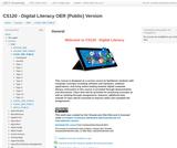 CS120 - Digital Literacy - OER (Public) Version