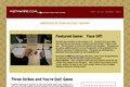 Addition and Subtraction Face-Off! Game