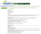 Investigating Local Plant Growth: Structures and Functions