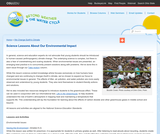 Science Lessons About Our Environmental Impact