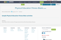 Physical Education Fitness Blasts