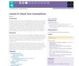 CS Principles 2019-2020 4.3: Check Your Assumptions