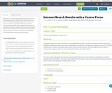 Internet Search Results with a Career Focus