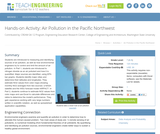 Air Pollution in the Pacific Northwest