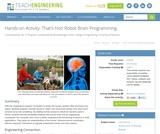That's Hot! Robot Brain Programming