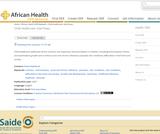 Child Healthcare: Diarrhoea