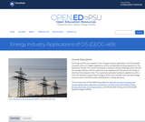 Energy Industry Applications of GIS