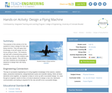 Design a Flying Machine