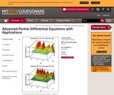Advanced Partial Differential Equations with Applications, Fall 2009