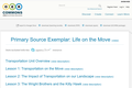 Primary Source Exemplar: Life on the Move