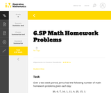 6.SP Math Homework Problems