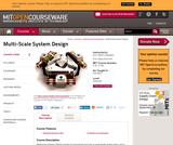 Multi-Scale System Design, Fall 2004