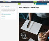 5 Tips to Write A Case Study Paper
