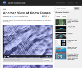 Another View of Snow Dunes