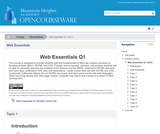 Web Essentials Q1