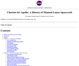 Chariots for Apollo - A History of Manned Lunar Spacecraft