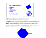 The Curved Cube