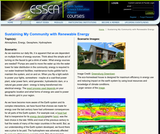 Energy for Me: Sustaining My Community with Renewable Energy