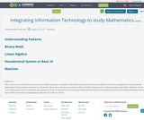 Integrating Information Technology to study Mathematics