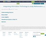 Integrating Information Technology to study Mathematics