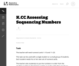 Assessing Sequencing Numbers