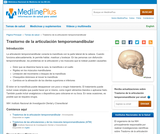 Temporomandibular Joint Disorders (Spanish)