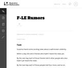 Rumors