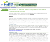 Disasters to Nature: Sensitivity of Ground-Water Systems to Pollution