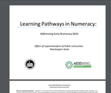 Washington Learning Pathways for Numeracy