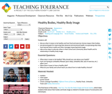Healthy Bodies, Healthy Body Image