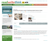 Professional Writing in Action! Publishing Student Reviews Online