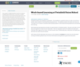 Work-based Learning at Twinfield Union School