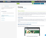 Creating a Remix on OER Commons - Remix