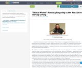 """""""This is Water"""": Finding Empathy in the Banalities of Daily Living"""