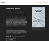 Open at the Margins: Critical Perspectives on Open Education