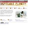 BBC News: Disposable Planet?
