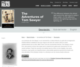The Adventures of Tom Sawyer by Mark Twain - Reader's Guide (Spanish)