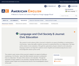 Language & Civil Society: Civic Education