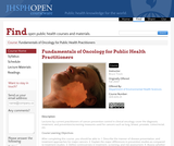 Fundamentals of Oncology for Public Health Practitioners