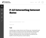 Interesting Interest Rates