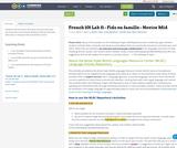 French 101 Lab 11 - Fido en famille - Novice Mid